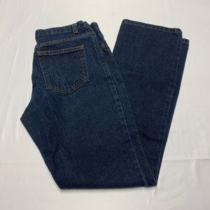The Limited Size 6 Dark Wash Straight Leg Jeans